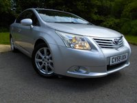 USED 2009 59 TOYOTA AVENSIS 2.0 TR D-4D 4d 125 BHP **SIX SPEED DIESEL, FULL SERVICE HISTORY, ONE PREVIOUS OWNER, YES ONLY 56K, LOVELY CONDITION THROUGHOUT**