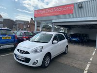 USED 2014 64 NISSAN MICRA 1.2 ACENTA 5d 79 BHP ONLY 24232 MILES FROM NEW, CHEAP TO RUN, LOW CO2 EMISSIONS, GOOD FUEL ECONOMY AND EXCELLENT SPEC INCLUDING AUXILIARY INPUT AND ELECTRIC FRONT WINDOWS! MEETS ALL LARGE CITY EMISSION STANDARDS.