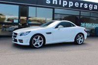 USED 2014 14 MERCEDES-BENZ SLK 2.1 SLK250 CDI BLUEEFFICIENCY AMG SPORT 2d AUTO 204 BHP 2014 14 Mercedes SLK Diesel AMG Sport in Polar White, Full Mercedes Benz Service History, Satellite Navigation, AMG Styling Package, Full Black Leather, Red Seat Belts, LED Daytime Running Lights, 7 Speed Automatic Transmission, Tyre Pressure Warning Indicator, Glass Roof With Inner Headliner, Audio 20 Radio With CD Changer, DAB Radio.
