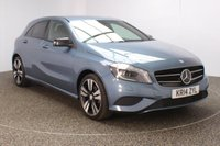 USED 2014 14 MERCEDES-BENZ A CLASS 1.5 A180 CDI BLUEEFFICIENCY SPORT 5DR AUTO HALF LEATHER SEATS 109 BHP FULL MERCEDES SERVICE HISTORY + HALF LEATHER SEATS + PARKING SENSOR + BLUETOOTH + CRUISE CONTROL + MULTI FUNCTION WHEEL + AIR CONDITIONING + PRIVACY GLASS + XENON HEADLIGHTS + RADIO/CD/USB + ELECTRIC WINDOWS + ELECTRIC MIRRORS + 18 INCH ALLOY WHEELS