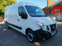 2015 NISSAN NV400 2.3 DCi L2 H2 MWB Med roof SE 125 *ONLY19k + AIR CON* £11495.00