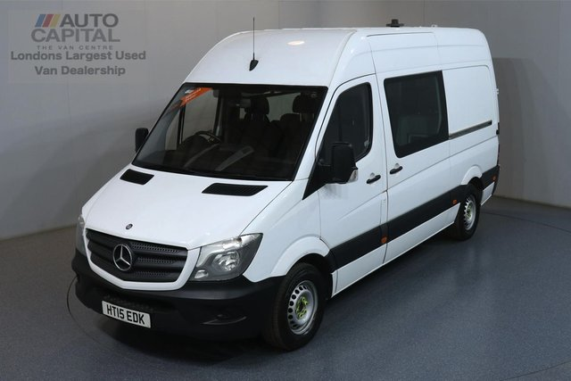 2015 15 MERCEDES-BENZ SPRINTER 2.1 313 CDI MWB 129 BHP 8 SEATS COMBI CREW MESS ONE OWNER, FULL SERVICE HISTORY