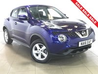 USED 2016 16 NISSAN JUKE 1.6 VISIA 5d 94 BHP 1 OWNER | ALLOYS | AIR CON |