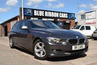 USED 2014 64 BMW 3 SERIES 2.0 320D EFFICIENTDYNAMICS TOURING 5d 161 BHP SAT NAV, DAB, BLUETOOTH, FBMWSH
