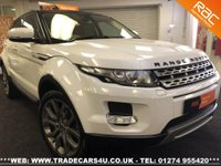 USED 2011 LAND ROVER RANGE ROVER EVOQUE SD4 PRESTIGE LUX PACK AUTO 5 DR WHITE UK DELIVERY* RAC APPROVED* FINANCE ARRANGED* PART EX