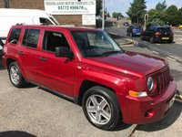 2008 JEEP PATRIOT 2.0 LIMITED CRD 5d 139 BHP £3695.00