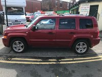 USED 2008 08 JEEP PATRIOT 2.0 LIMITED CRD 5d 139 BHP