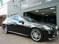 2013 MERCEDES-BENZ E CLASS 3.0 E350 BLUETEC AMG SPORT 5d AUTO 249 BHP £SOLD