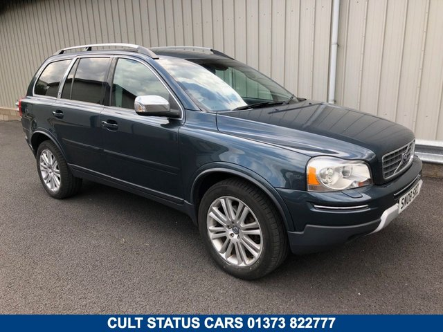 2008 08 VOLVO XC90 2.4 D5 EXECUTIVE 183 BHP AUTO AWD 4X4