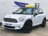 2012 MINI COUNTRYMAN 1.6 COOPER 5d 122 BHP £6995.00