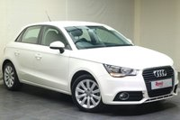 "USED 2013 63 AUDI A1 1.4 SPORTBACK TFSI SPORT 5d 122 BHP 16""ALLOYS+PARKING SENSORS+NAV+1 KEEPER+BLUETOOTH"
