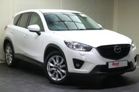 """USED 2015 15 MAZDA CX-5 2.2 D SPORT NAV 5d 148 BHP 19""""ALLOYS+PARKING SENSORS+LEATHER+1 KEEPER+NAV+HEATED FRONT SEATS+CRUISE CONTROL"""