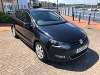USED 2012 12 VOLKSWAGEN POLO 1.4 MATCH DSG 5d AUTO 83 BHP VERY LOW MILEAGE AUTO!