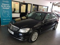 USED 2011 11 MERCEDES-BENZ C CLASS 1.8 C180 CGI BLUEEFFICIENCY ELEGANCE 4d AUTO 156 BHP This C-Class is finished in Obsidian Black with full Cream part electric heated leather seats. It is fitted with power steering, remote locking, electric windows, folding electric mirrors and part electric front seats, climate control, cruise control, front and rear parking sensors,  Bluetooth phone, Alloy wheels, CD Stereo with Media port and more. It has been privately owned. It comes with a full service history that is on Mercedes Database done by Mercedes and independently.