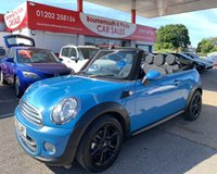 2013 MINI CONVERTIBLE 1.6 COOPER 2d 122 BHP *ONLY 27,000 MILES* £8995.00