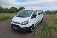 2014 FORD TRANSIT CUSTOM 2.2 310 TDCI KOMBI Minibus,1 Owner, £11995.00