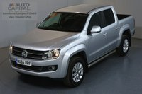 USED 2016 66 VOLKSWAGEN AMAROK 2.0 DC TDI HIGHLINE 4MOTION AUTO 180 BHP ULEZ COMPLIANT AIR CON, FRONT-REAR PARKING SENSORS, ALLOY WHEEL, LEATHER SEATS