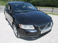 USED 2008 58 VOLVO S40 1.8 S 4d 125 BHP FULL SERVICE HISTORY ALLOYS CD AC
