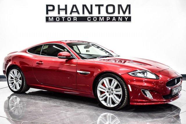 USED 2012 12 JAGUAR XK 5.0 XKR 2d AUTO 510 BHP