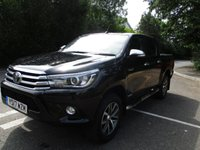 2017 TOYOTA HI-LUX Invincible Nav and Leather £17500.00