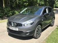 USED 2013 63 NISSAN QASHQAI 1.6 360 5d 117 BHP HD VIDEO LOW MILEAGE FINANCE ME TODAY-UK DELIVERY POSSIBLE