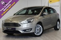 USED 2016 16 FORD FOCUS 1.0 TITANIUM X 5d 124 BHP SAT NAV, ELECTRIC HEATED SEATS, REVERSE CAMERA, PARK ASSIST, CRUISE CONTROL, PARK SENSORS, FULL SERVICE HISTORY