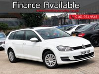 USED 2014 64 VOLKSWAGEN GOLF 1.6 S TDI BLUEMOTION TECHNOLOGY 5d 103 BHP ONLY ONE KEEPER FROM NEW+FULL SERVICE HISTORY