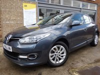 USED 2015 15 RENAULT MEGANE 1.5 DYNAMIQUE TOMTOM ENERGY DCI S/S 5d 110 BHP FREE ROAD TAX...SUPERB SPECIFICATION....LOW MILEAGE