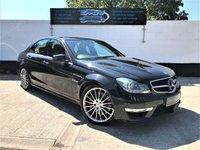 2011 MERCEDES-BENZ C CLASS 6.2 C63 AMG EDITION 125 4d AUTO 457 BHP £SOLD