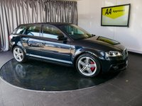USED 2012 61 AUDI A3 2.0 SPORTBACK TDI S LINE 5d 168 BHP £0 DEPOSIT FINANCE AVAILABLE, AIR CONDITIONING, AUX INPUT, BOSE SOUND SYSTEM, CLIMATE CONTROL, DAYTIME RUNNING LIGHTS, HALF RED LEATHER UPHOLSTERY, START/STOP SYSTEM, STEERING WHEEL CONTROLS, TRIP COMPUTER