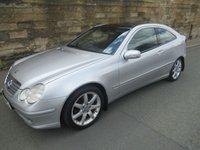 2004 MERCEDES-BENZ C CLASS 1.8 C180 KOMPRESSOR SE 3d AUTO 143 BHP £1500.00