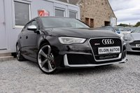 USED 2016 65 AUDI RS3 Sportback Quattro 2.5 S Tronic ( 367 bhp ) Low Mileage Dynamic Pack Tech Pack Magnetic Ride Over £7k Extras Huge Spec