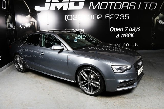 2012 12 AUDI A5 2.0 TDI S LINE BLACK EDITION STYLE 5d 177 BHP (FINANCE AND WARRANTY)