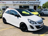 2014 VAUXHALL CORSA 1.2 Limited Edition 3 door £4999.00