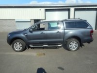 USED 2014 64 FORD RANGER 3.2 WILDTRAK 4X4 DCB TDCI 1d AUTO 197 BHP SAT NAV LEATHER NO VAT...........