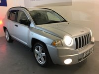 USED 2008 08 JEEP COMPASS 2.0 LIMITED CRD 5d 139 BHP SAVE £250 THIS WEEKEND WAS £4000 NOW £3750 3 DAY FLASH SALE !!! Leather, spoke alloys,ONLY 71,000 miles -great value 4x4