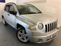 2008 JEEP COMPASS 2.0 LIMITED CRD 5d 139 BHP £3750.00