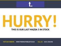 USED 2012 61 MAZDA 3 1.6 TS D 5d 115 BHP