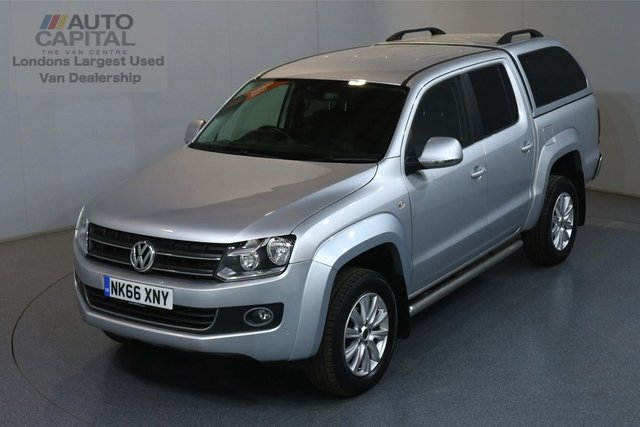 2016 66 VOLKSWAGEN AMAROK 2.0 DC TDI HIGHLINE 4MOTION AUTO 180 BHP AIR CON SAT NAV LEATHER SEATS FRONT-REAR PARKING SENSORS, ALLOY WHEEL