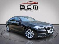 2014 BMW 5 SERIES 2.0 520D SE 4d AUTO 181 BHP £9885.00