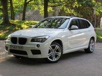 2013 BMW X1 2.0 XDRIVE18D M SPORT 5d 141 BHP £6677.00