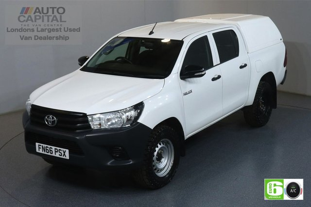 2016 66 TOYOTA HI-LUX 2.4 ACTIVE 4WD D-4D DCB 148 BHP EURO 6 ENGINE AIR CON, VOICE CONTROL