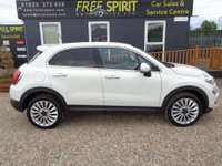 USED 2015 65 FIAT 500X 1.4 MultiAir Lounge (s/s) 5dr Navigation, Bluetooth