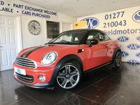 USED 2015 64 MINI COUPE 1.6 COOPER 2d 120 BHP