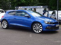 USED 2013 63 VOLKSWAGEN SCIROCCO 2.0 GT TDI BLUEMOTION TECHNOLOGY 2d 140 BHP Nav,RevCam,PanRoof,HtdLeather