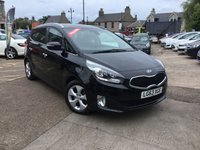 USED 2013 63 KIA CARENS 1.7 2 ECODYNAMICS CRDI 5d 114 BHP 7 seater diesel with service history