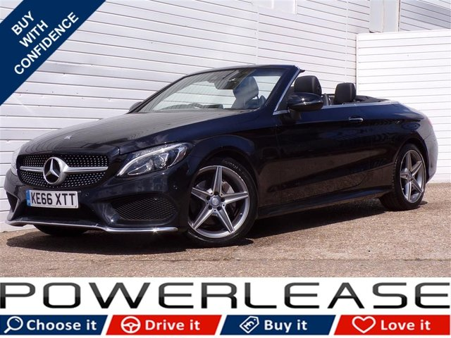USED 2017 66 MERCEDES-BENZ C CLASS 2.1 C 220 D AMG LINE 2d AUTO 168 BHP FSH SAT NAV LEATHER BLUETOOTH