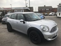 USED 2011 11 MINI COUNTRYMAN 1.6 ONE 5d 98 BHP