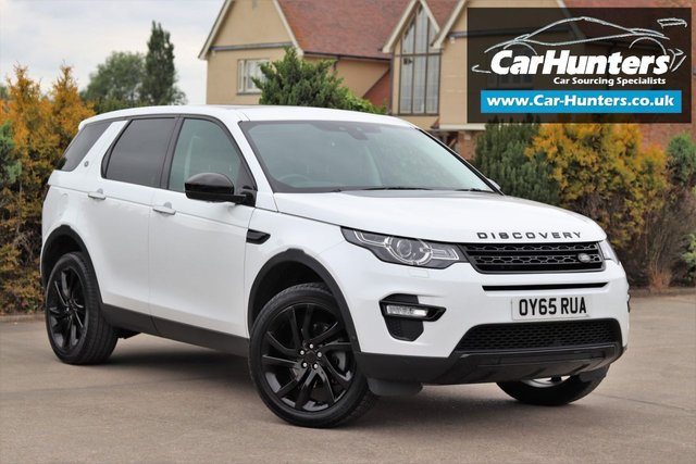 2015 65 LAND ROVER DISCOVERY SPORT 2.0 TD4 HSE LUXURY 5d AUTO 180 BHP