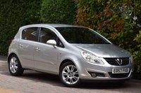 USED 2007 57 VAUXHALL CORSA 1.4 DESIGN 16V 5d AUTO 90 BHP